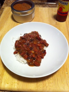Pressure Cooker Red Beans and Rice